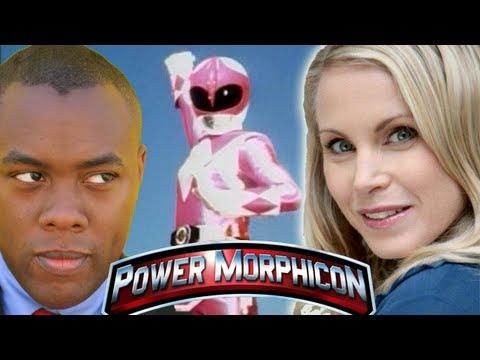 MY PINK RANGER DATE! Catherine Sutherland (Kat) Power Morphicon 2012 Interview