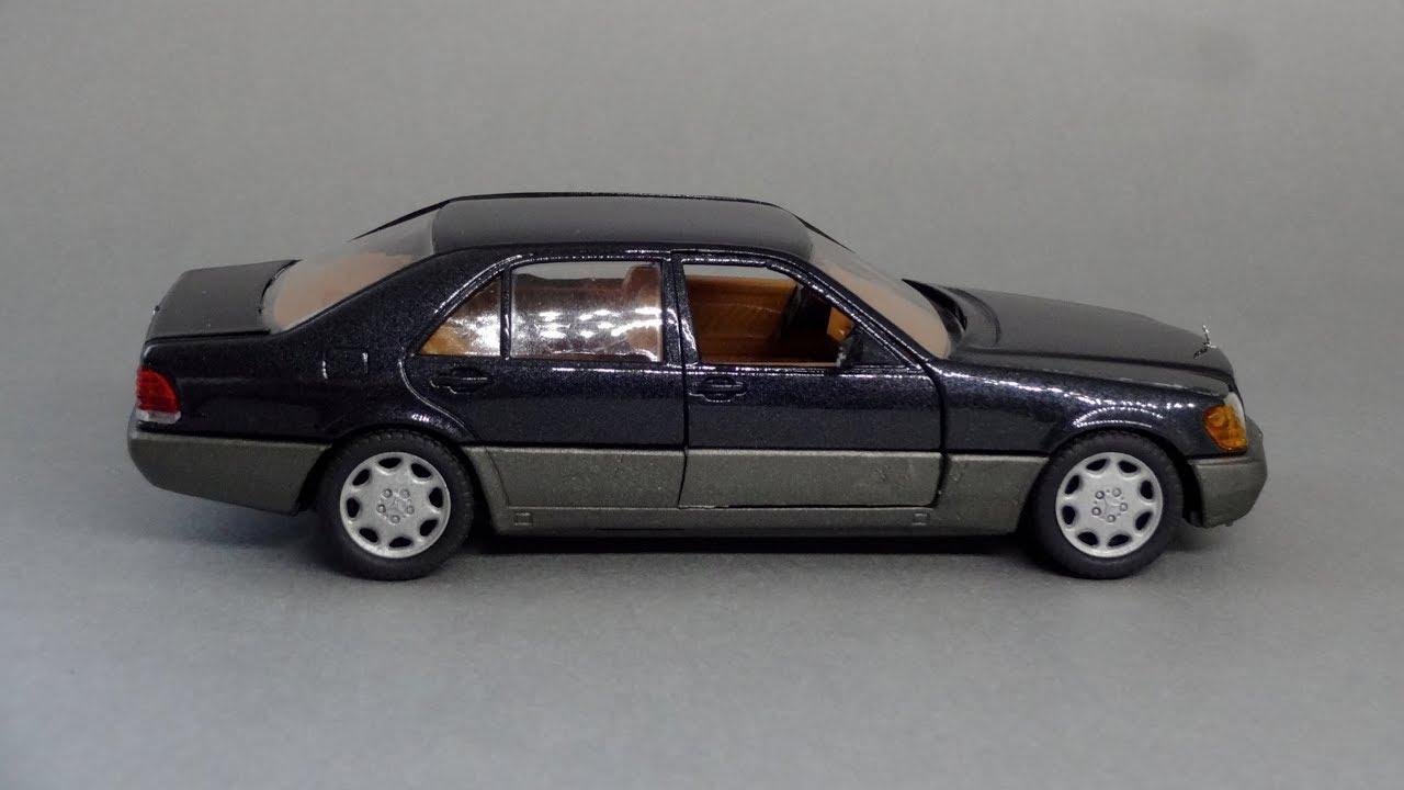 Mercedes benz s class 600 sel w140 1 43 schabak for Mercedes benz s class 600