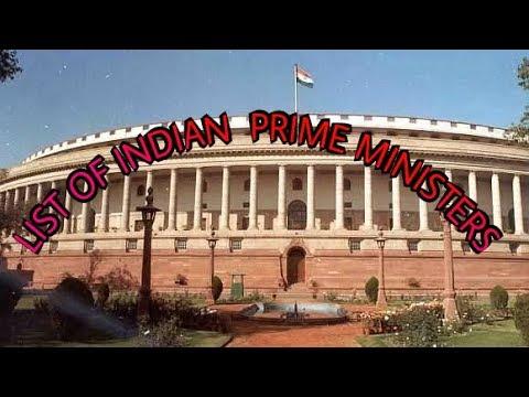 Indian prime ministers list (1947 -2017)भारत के  प्रधानमंत्री