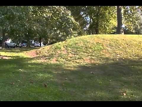 Hopewellian platform mound-Marietta,Ohio