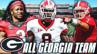 ALL GEORGIA BULLDOG TEAM! TODD GURLEY, AJ GREEN & MORE! Madden 19 Ultimate Team