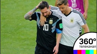 В Москве вничью сыграли сборные Аргентины и Исландии: Месси не забил пенальти - СМИ2