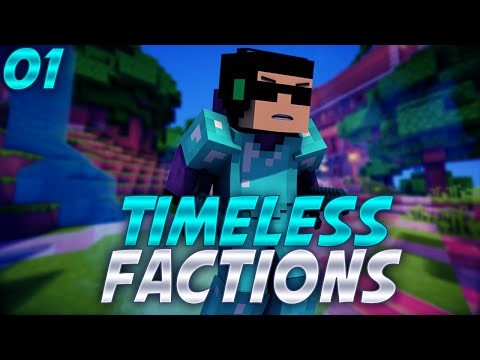 Minecraft - Factions - TimeLess PVP - EP01 (No Rank Factions) - This is going to be hard