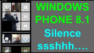 Windows Phone 8.1 - Quickly Silence your Lumia