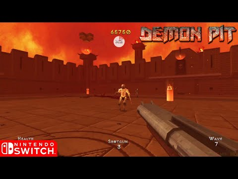 Demon Pit - Nintendo Switch Gameplay (2019) |