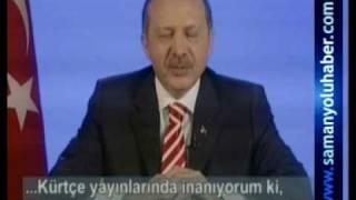 Basbakan Recep Tayyip Erdogan TRT6'ya konustu