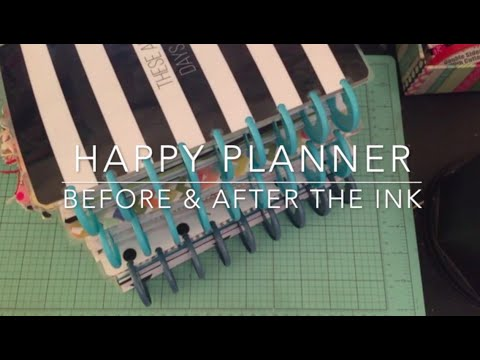 Happy Planner Flip Through - Before and After the Ink (May, Jun, and Jul)