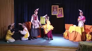 Спектакль по сказке С Михалкова Зайка зазнайка 2021 год Образцовый детский театр Маскарад