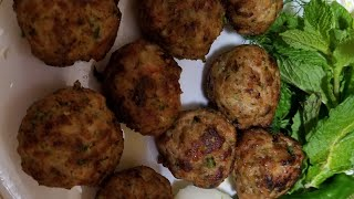 Frozen kofta recipe #(how to make and freeze chicken meatballs) easy method