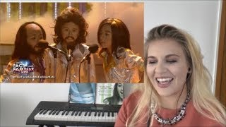 VOCAL COACH   | TNT Boys as Bee Gees | Too Much Heaven |    REACTION