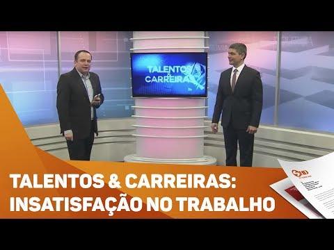 Quadro Talentos & Carreiras: Insatisfação no trabalho - TV SOROCABA/SBT