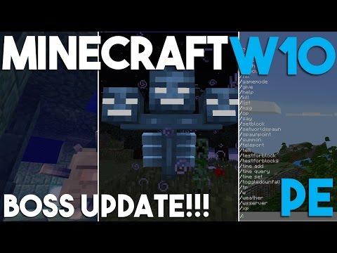 Minecraft PE and Windows 10 Update 0.16.0!!!