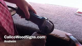 How To Make Wood Signs From Calicowoodsigns.com The Rustic Edge