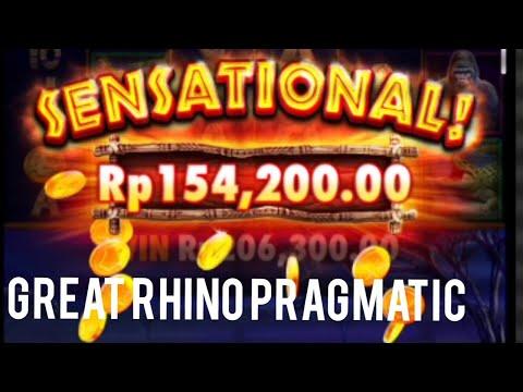 main-receh-aja,hilangin-suntuk!!!-great-rhino-pragmatic-hoki-cash-#slot-#slotonline-#slotjackpots