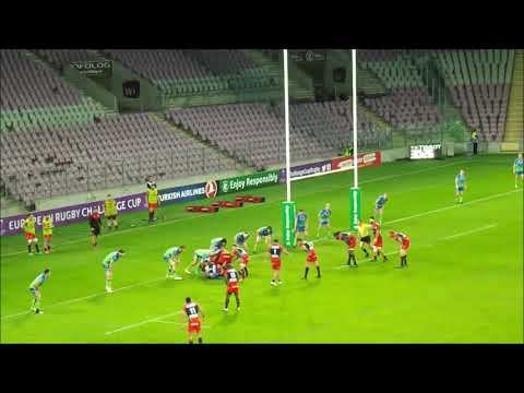 Résumé du match Oyonnax / Connacht - Saison 2017/2018 - Challenge Cup (14/10/17) - HD