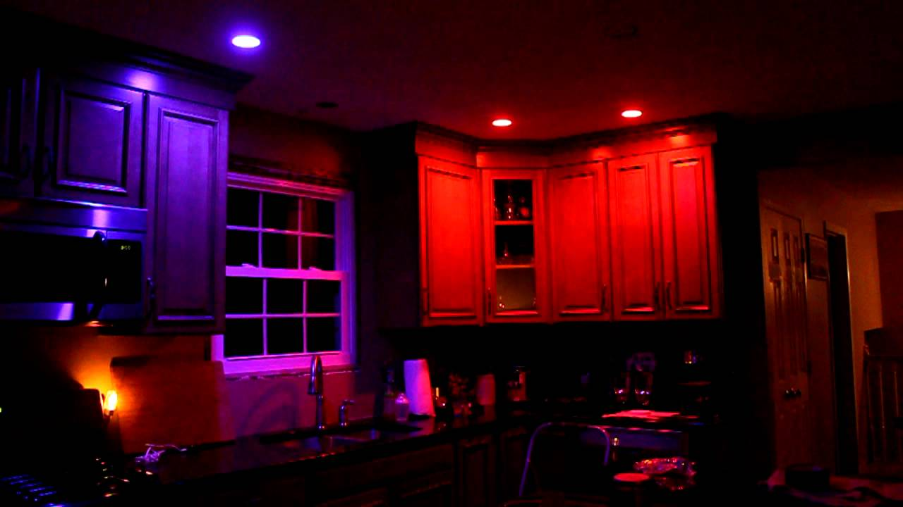 Philips Hue Bulbs In Kitchen Youtube