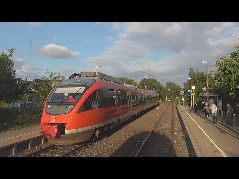 Führerstandsmitfahrt VT 644 (Bombardier Talent) Bedburg - Köln Ehrenfeld