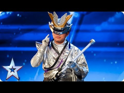 Out of this world performance alert  Kaptain Rock from Planet Rock!  Auditions  BGT 2018