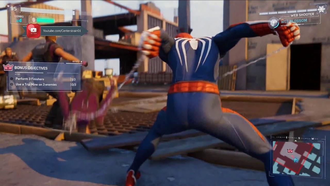 Marvel Spider-man | Gameplay Demo | Sony E3 2018 - YouTube