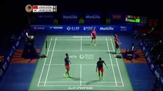 Thaihot China Open 2015 | Badminton F M5-MD | Chai/Hong vs Kim/Kim