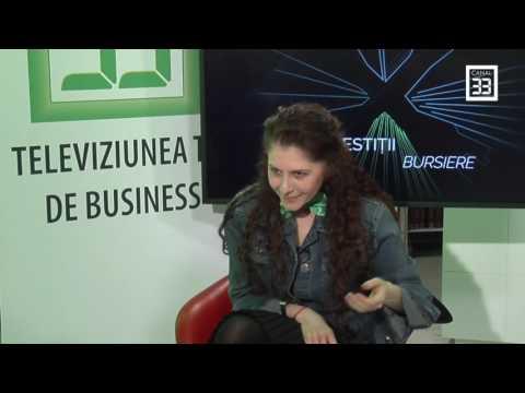 "Andreea Maria Paul, emisiunea ""Business Woman"" la Canal 33"