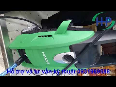Máy Rửa Xe Hitachi Aw130, Máy Rửa Xe Tốt Nhất Việt Nam