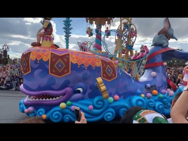 Disney Festival of Fantasy Parade Magic Kingdom 4k 2019