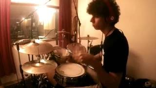 """Read me:hey guys this is my version of """"work"""" by rihanna with me on drums. hope you enjoy. if yes please leave a comment below, put thumbs up and shar..."""