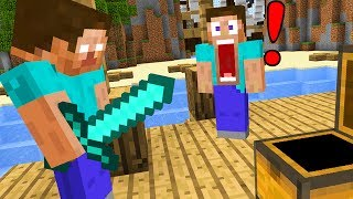 Trolling as Herobrine in Minecraft Pocket Edition!