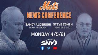Steve Cohen & Sandy Alderson Monday Afternoon News Conference | New York Mets | SNY