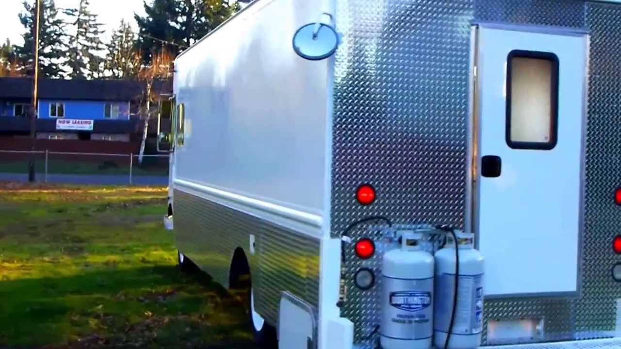 1997 Chevrolet Grumman Olsen Lunch Food Truck Youtube