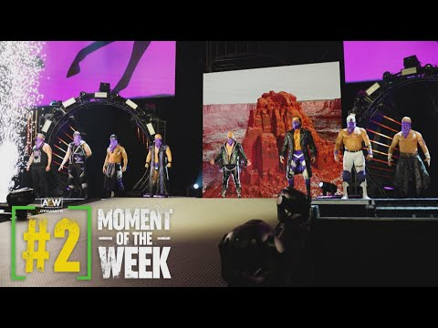 The Better Entrance? Hangman & the Dark Order or The Elite? | AEW Dynamite FFTF, 7/28/21