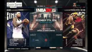 NBA 2K15 - Lakers VS Cavaliers PC Gameplay