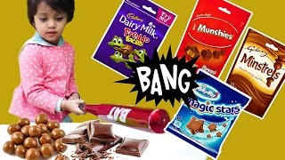Baby Learning Colors with Chocolate Brands for Kids Children Toddlers