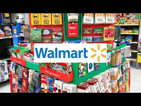 WALMART SHOPPING!!!🎄CHRISTMAS GIFT CARDS...THE
