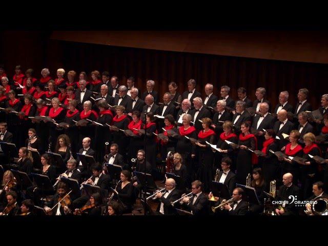 Choeur d'Oratorio de Montreux - Poulenc - Gloria - Gloria in excelsis Deo