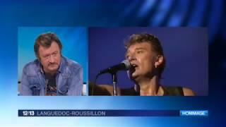 Montpellier : Richy le sosie de Johnny Hallyday réagit à la mort de son idole