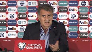 Moldova 0-4 Türkiye | Şenol Güneş'in maç sonu açıklamaları