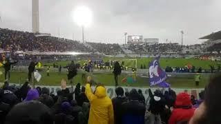 Fiorentina Benevento tutti sotto la Fiesole per Astori