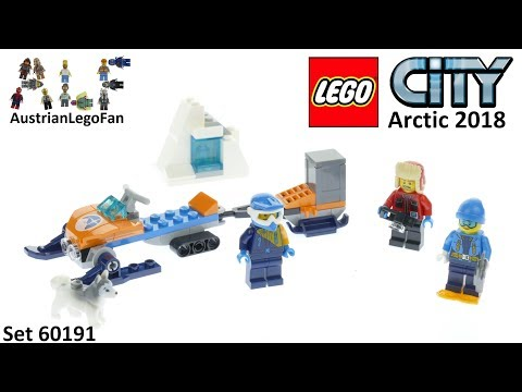 Lego City 60191 Arctic Exploration Team - Lego Speed Build Review