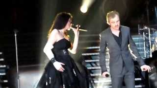 Within Temptation feat. Piotr Rogucki - Whole world is watching @Warsaw Torwar 2014 HD
