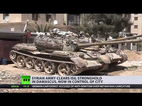 Syrian army clears ISIS stronghold in Damascus, now in control of city