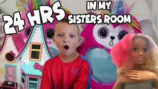 24 hours in my SISTERS ROOM!
