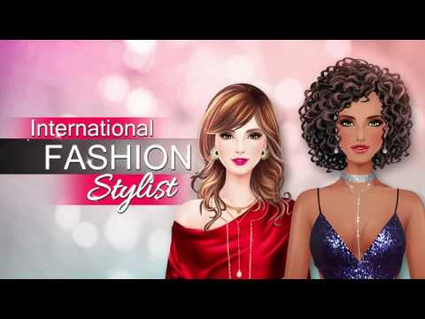 International Fashion Stylist Gameplay Trailer Dress Up Fashion Game For Girls Youtube