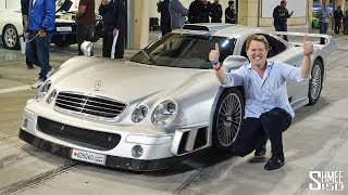 My Dream First Drive in the MERCEDES CLK GTR!
