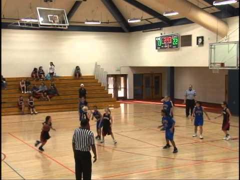Graham vs Cupertino Girls 6th Grade Basketball 1.29.13