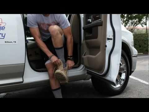 Granger Smith - Sleeping on the Interstate (100 Mile Walk Video)