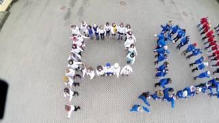 День Рождения Российского движения школьников. Флешмоб 29.10.16