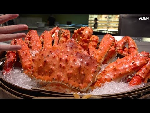 Seafood in Taipei ~ King Crab and Lobster