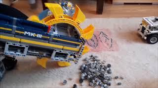 LEGO Роторный экскаватор 42055  2016.11.09